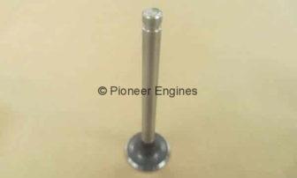 Nissan exhaust valve